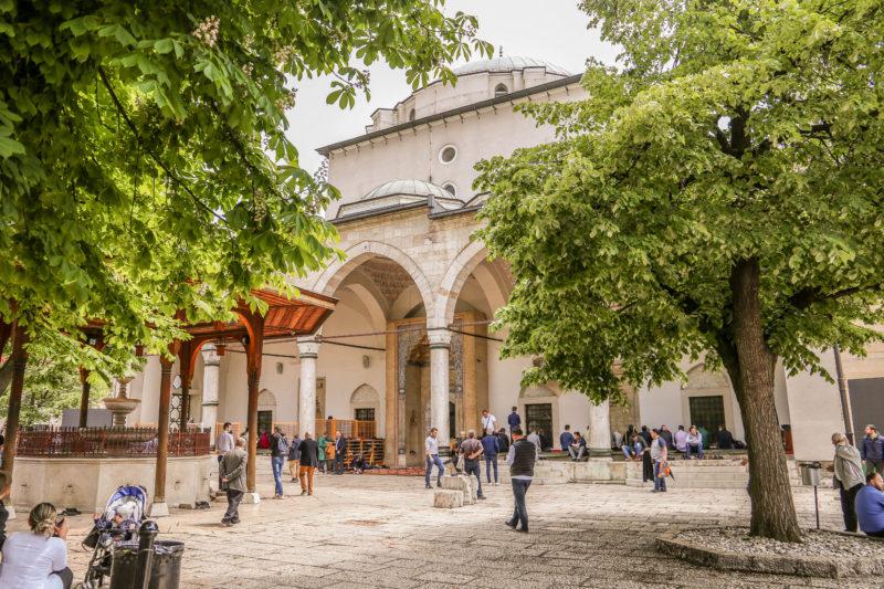 Gazi Husarev Mosque Sarajevo