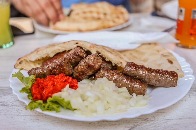 Cevapi In Mostar, Bosnia