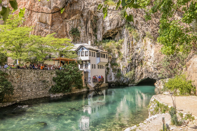 Blagaj Tekke : Bosnia's Serene Hidden Sufi Monastery