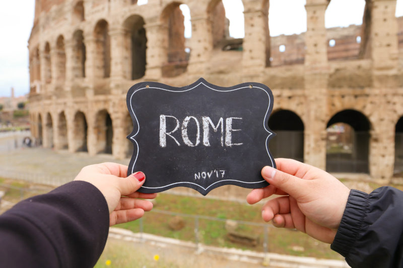 Rome Come Fly With B