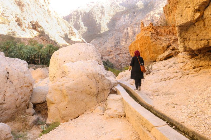 Oman, wadi shab,